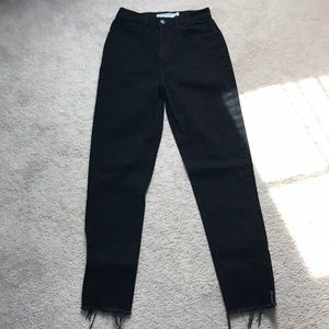 AA mom jeans